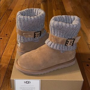 W Cambridge Suede / Merino Wool Ankle Boots